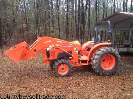 Kubota 50 HP Tractor